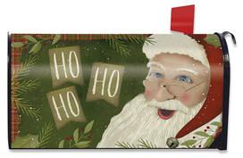 Primitive Santa Christmas Magnetic Mailbox Cover