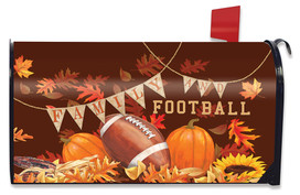 Family & Football Mailbox Cover
