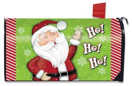 Ho Ho Ho Santa Christmas Magneti Mailbox Cover