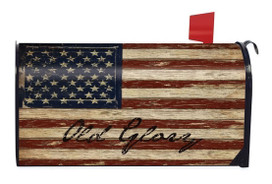 Old Glory Patriotic Magnetic Mailbox Cover