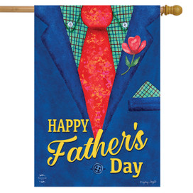 Father's Day Suit House Flag