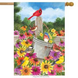 Spring Gathering Cardinal House Flag