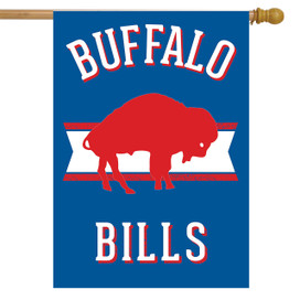 Retro Buffalo Bills NFL Licensed House Flag