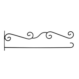 Wrought Iron House Flag Wall Bracket