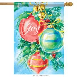 Shining Ornaments Christmas House Flag