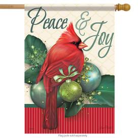 Sparkling Holiday Christmas House Flag