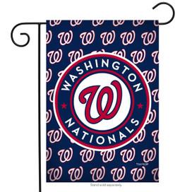 Washington Nationals Greeting Card Garden Flag