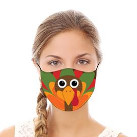 Turkey Reusable Cloth Face Mask