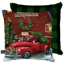 Christmas Tree Farm Decorative Pillow