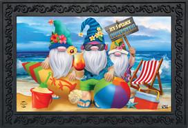 Summer Gnomes Humor Doormat