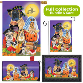 Trick or Treat Dogs Halloween Design Collection