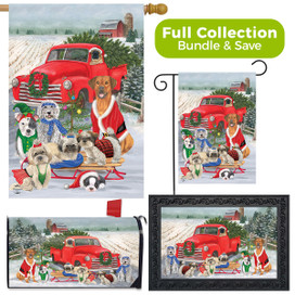 Holiday Dogs Christmas Design Collection