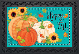 Whimsical Fall Primitive Doormat