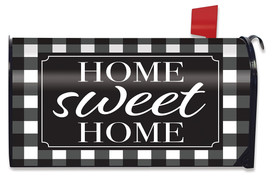 Home Sweet Home Checkers Spring Mailbox Cover