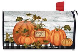 Happy Fall Y'all Pumpkins Farmhouse Mailbox Cover