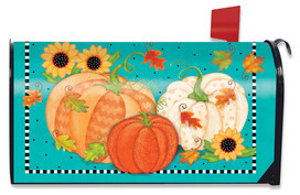 Whimsical Fall Primitive Mailbox Cover