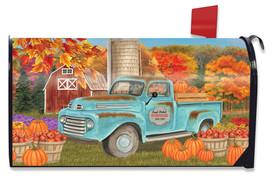 Fresh Picked Pumpkins Fall Mailbox Cover