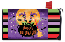 Witch Feet Halloween Mailbox Cover