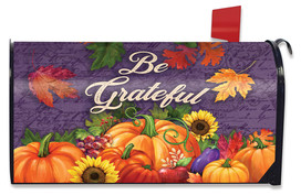 Be Grateful Fall Mailbox Cover
