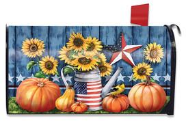 American Autumn Farmhouse Mailbox Cover