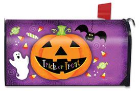Halloween Treats Jack O'lantern Mailbox Cover