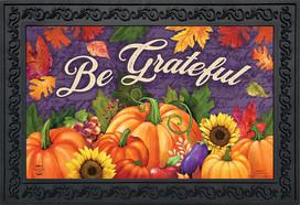 Be Grateful Fall Doormat