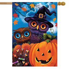 Happy Halloween Owls House Flag