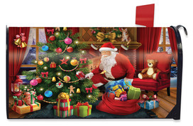 The Magic of Christmas Mailbox Cover