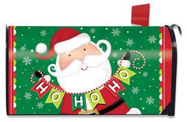 Santa Ho Ho Ho Christmas Mailbox Cover