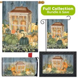 Autumn's Glow Lantern Farmhouse Design Collection