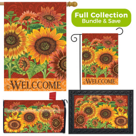 Colorful Sunflowers Fall Design Collection
