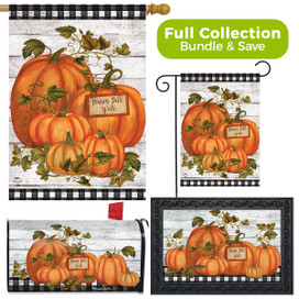 Happy Fall Y'all Pumpkins Farmhouse Design Collection