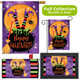 Witch Feet Halloween Design Collection