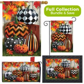 Patterned Pumpkins Autumn Design Collection