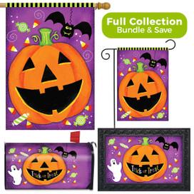 Halloween Treats Jack O'lantern Design Collection
