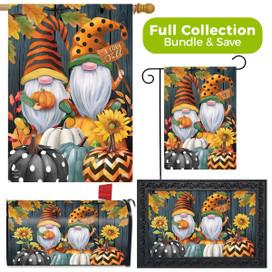 Fall Gnomes Humor Design Collection