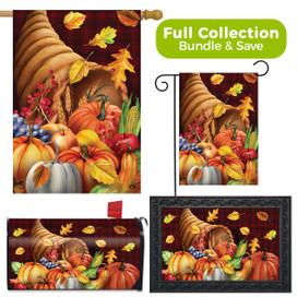 Fall Bounty Cornucopia Design Collection