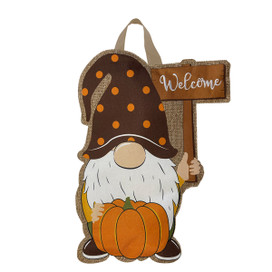 Fall Gnome Burlap Door Hanger
