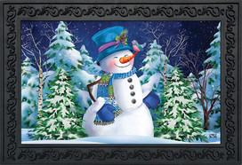 Snowfall Celebration Winter Doormat