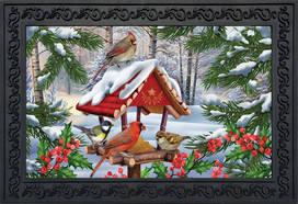 Gathered Together Winter Doormat
