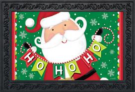 Santa Ho Ho Ho Christmas Doormat