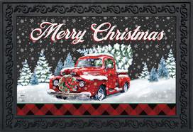 Merry Christmas Pickup Doormat
