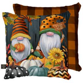 Fall Gnomes Humor Decorative Pillow