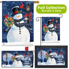 Snowman Holiday Cheer Christmas Design Collection