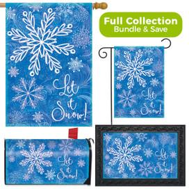 Glistening Snowflakes Winter Design Collection