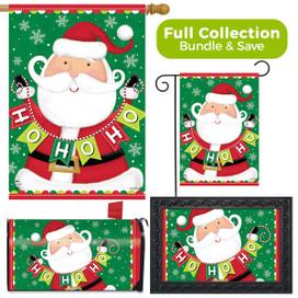 Santa Ho Ho Ho Christmas Design Collection