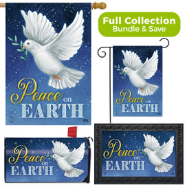 Peace on Earth Dove Christmas Design Collection