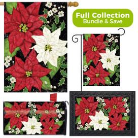 Festive Poinsettias Christmas Design Collection