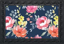 Watercolor Floral Spring Doormat