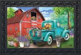 Farm In Spring Doormat